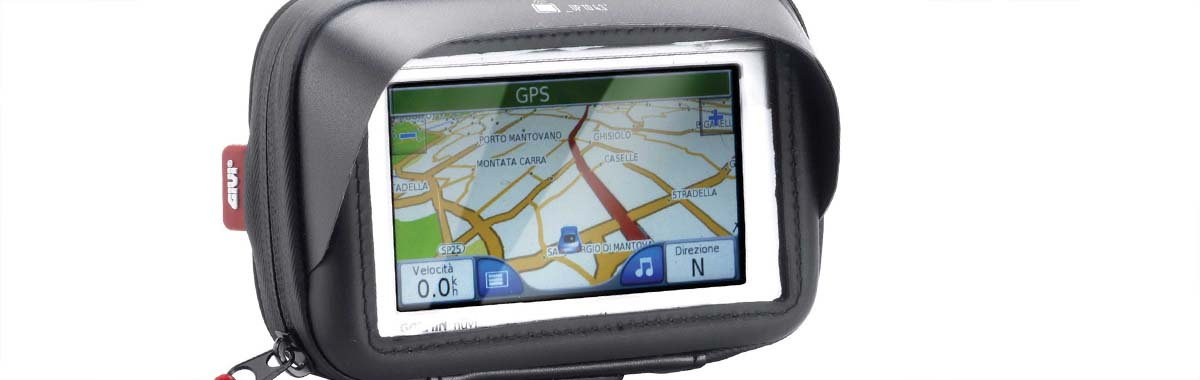 Motoros GPS és okostelefon-tartó