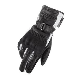Difi Lizzy női motoros kesztyű Fekete/Fehér